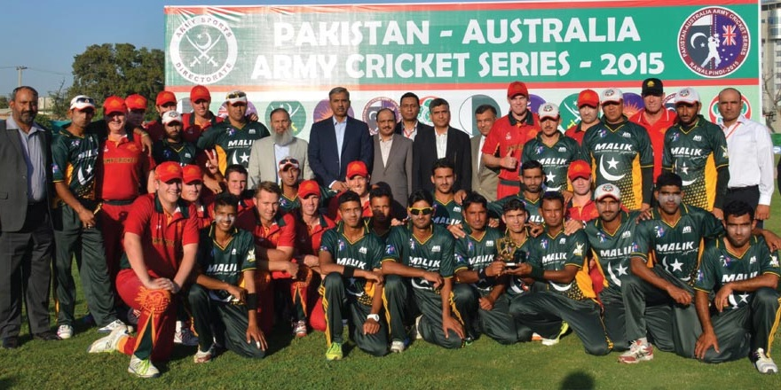 Pakistan Australia Army Cricket Series