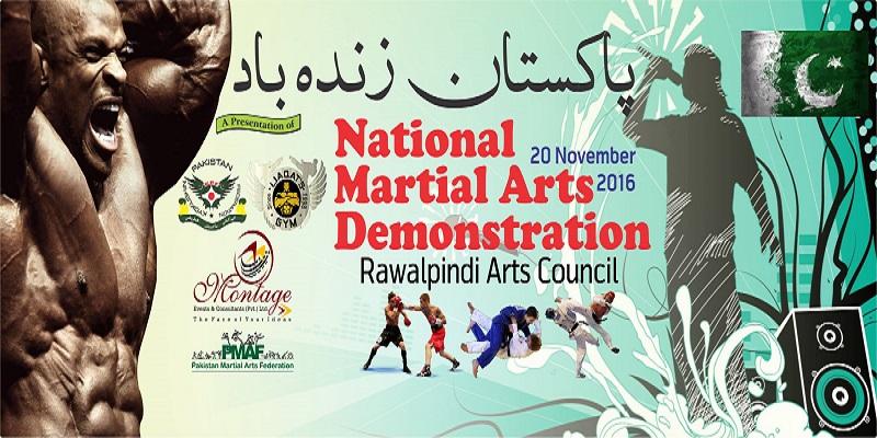 National Martial Arts Demonstration