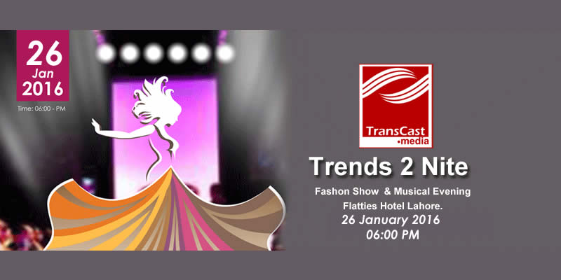 Trends2Nite Fashion Show and Musical Evening