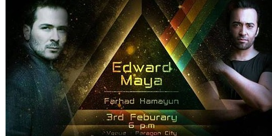 Edward Maya Live in Lahore