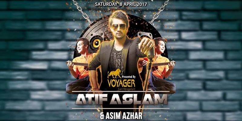 Atif Aslam and Asim Azhar