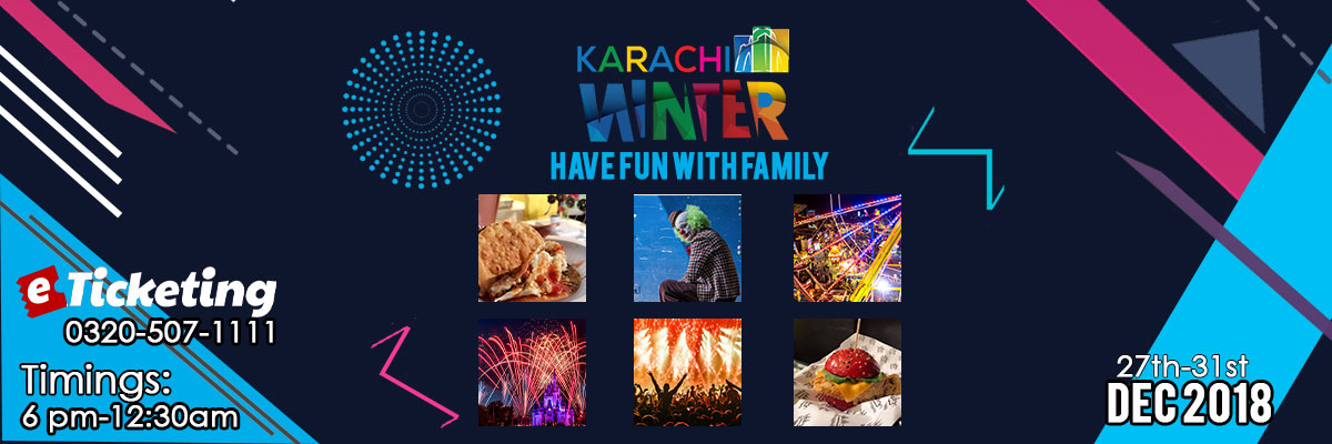 Karachi Winter Family Festival Tickets The Catch
