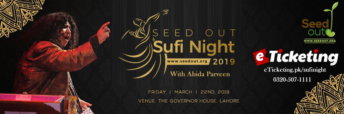 Seed Out Sufi Night Tickets Seed Out