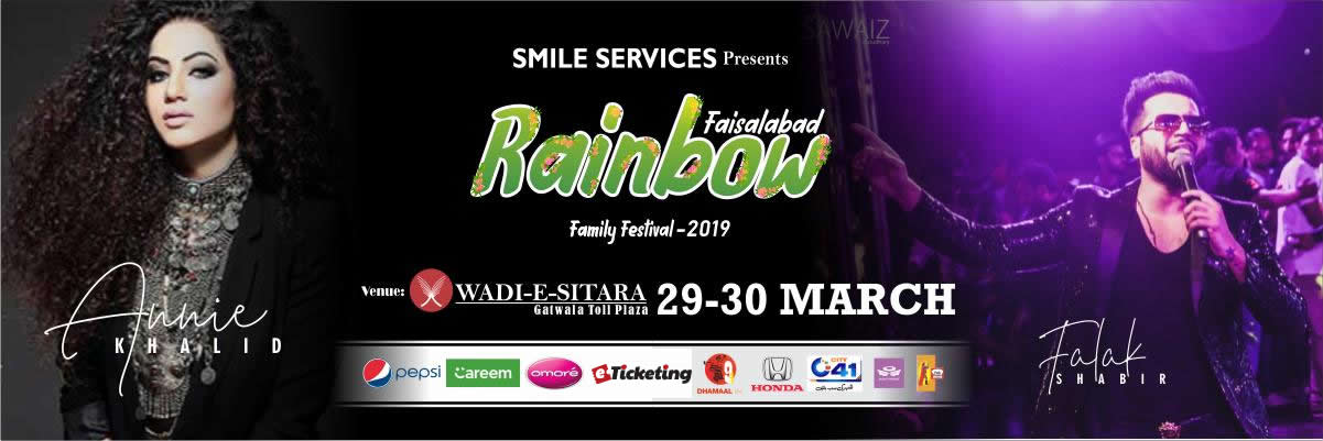 Rainbow Family Festival Tickets Smile Services Pakistan