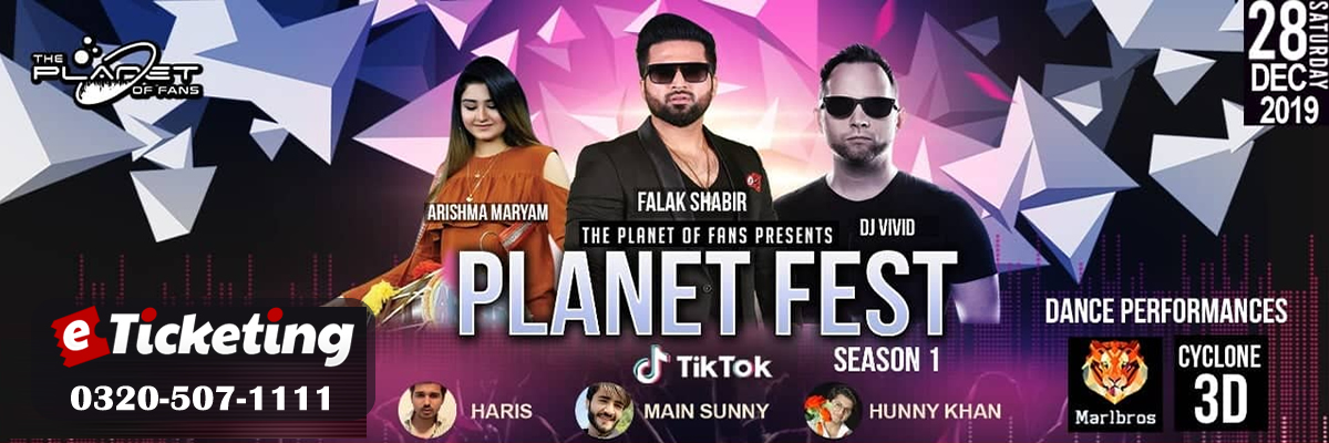 Planet Fest Season 1 Tickets The Planet of Fans