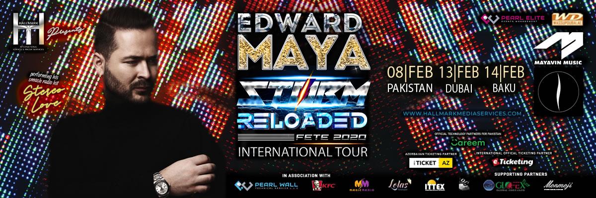 Edward Maya Live in Concert Tickets Hallmark International