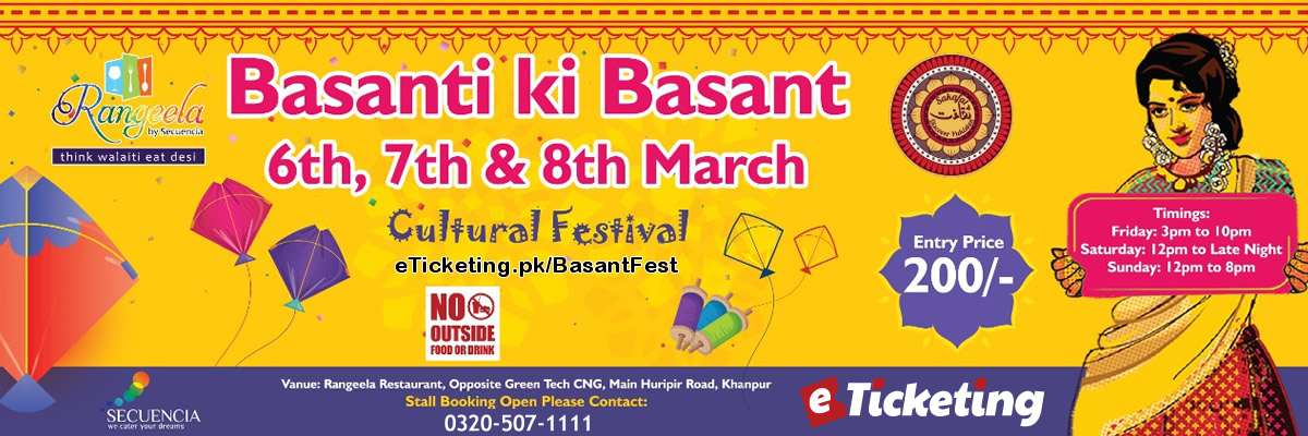 Basant Fest Tickets The Backpackers