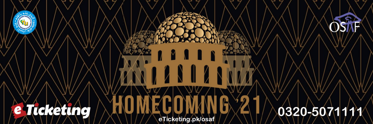FAST Alumni Homecoming Tickets Old Students Association of FAST (OSAF)