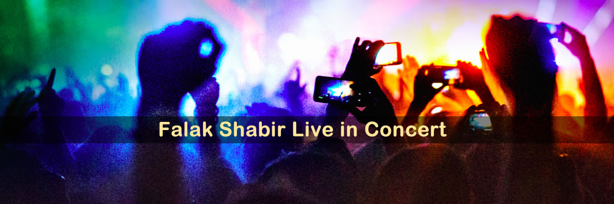 Falak Shabir Tickets The Planet of Fans