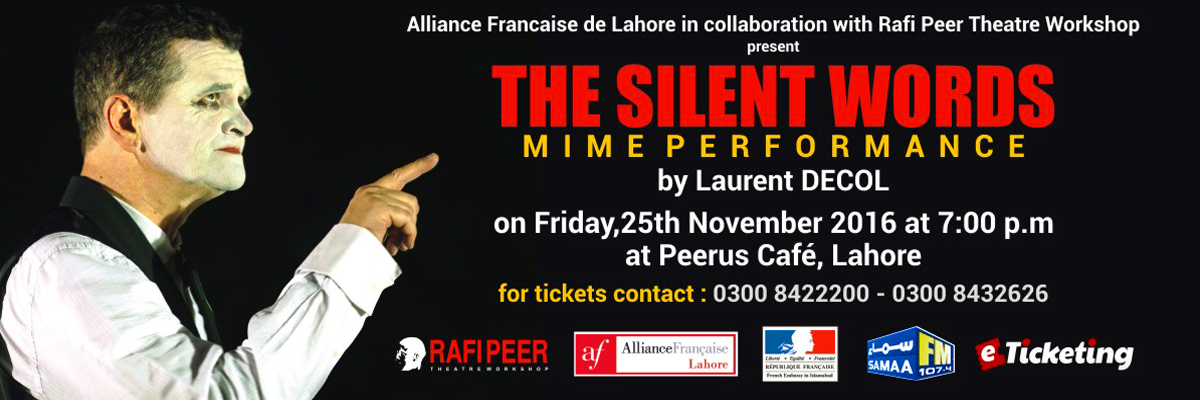 The Silent Words Tickets Rafi Peer Theatre Workshop
