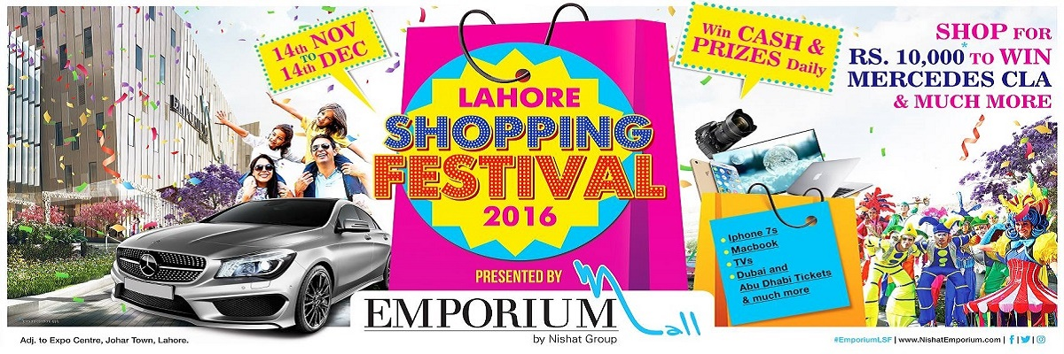 Lahore Shopping Festival Tickets