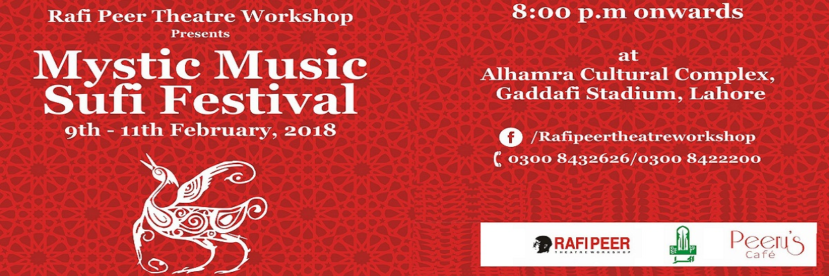 Mystic Music Sufi Festival Tickets Rafi Peer Theatre Workshop