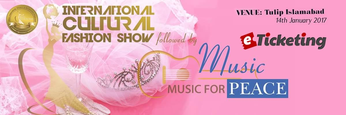 International Cultural Fashion Show and Concert Tickets