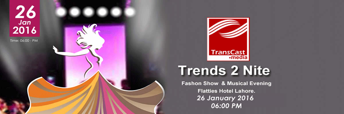 Trends2Nite Fashion Show and Musical Evening Tickets