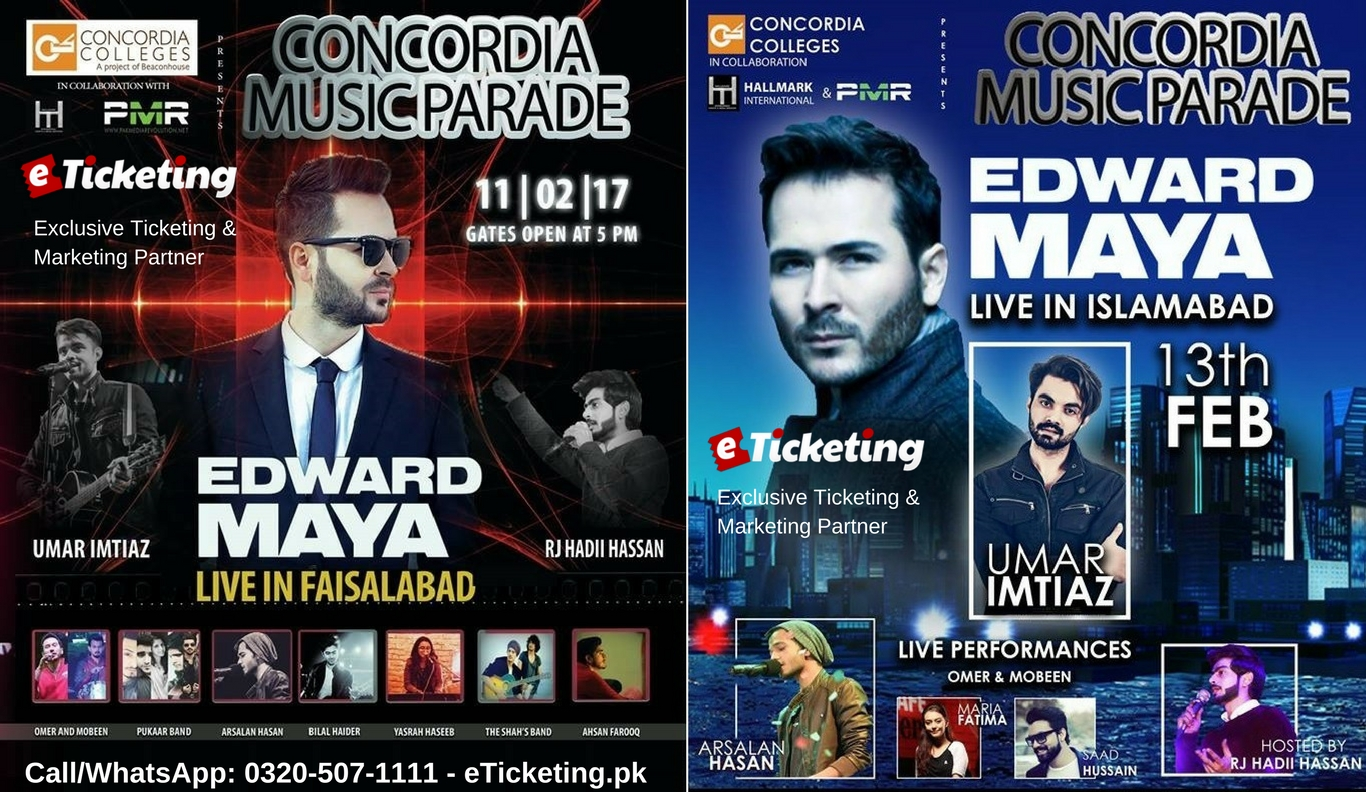 Concordia Music Parade Tickets Hall Mark International