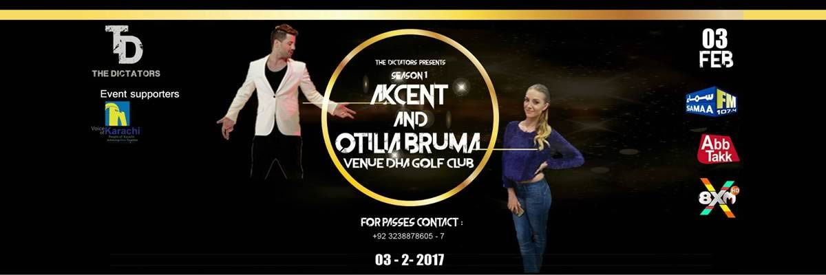 Akcent and Otilia Bruma Tickets