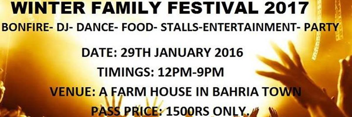 Winter Family Festival Tickets