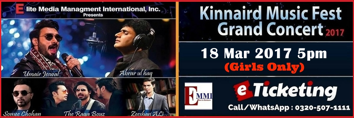 Kinnaird Music Fest Tickets Elite Media Management International Inc.
