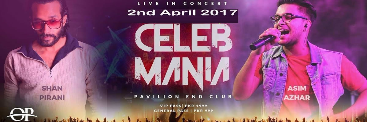 Celeb Mania Tickets