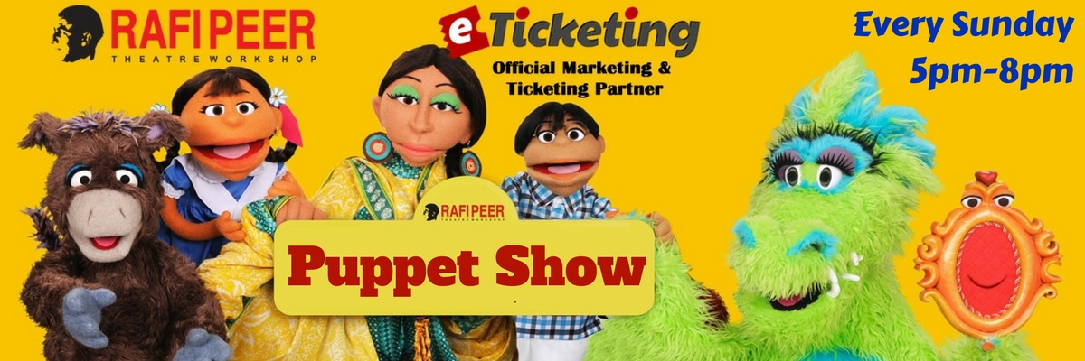 Puppet Show and Puppet Museum Tour Tickets Rafi Peer Theatre Workshop