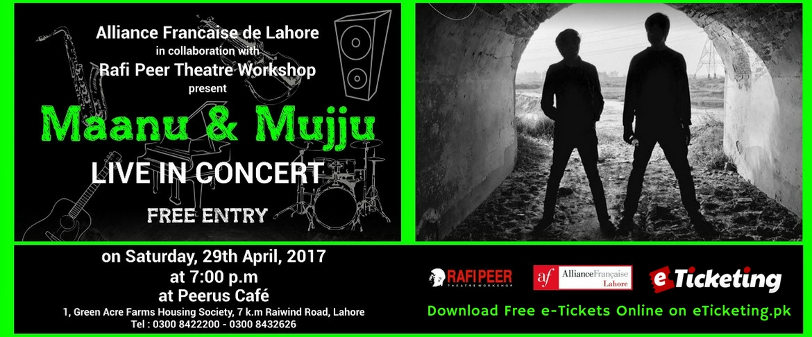 Maanu and Mujju Tickets Rafi Peer Theatre Workshop