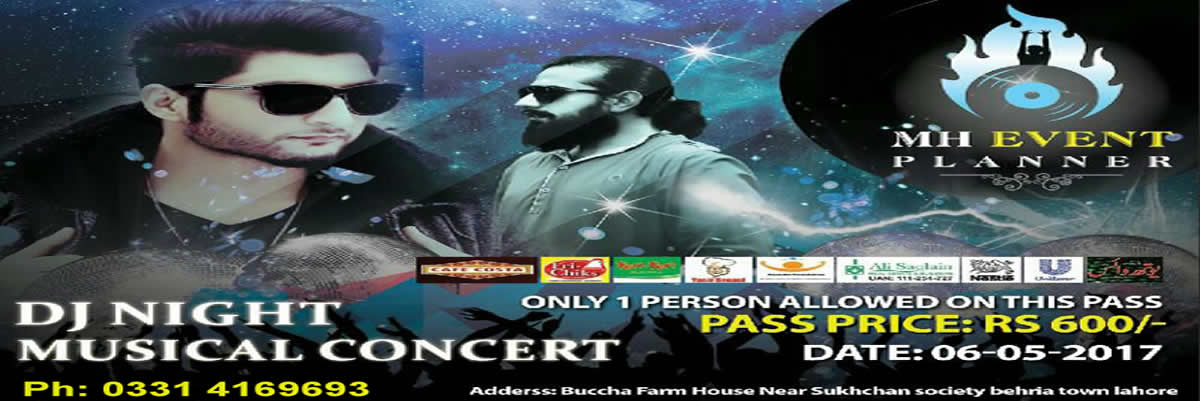 DJ Night with Bilal Saeed Tickets MH Event Planner