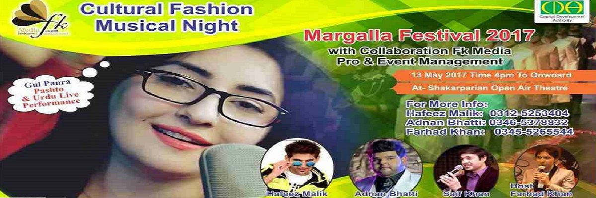 Cultural Fashion Musical Night Tickets MediaBiz