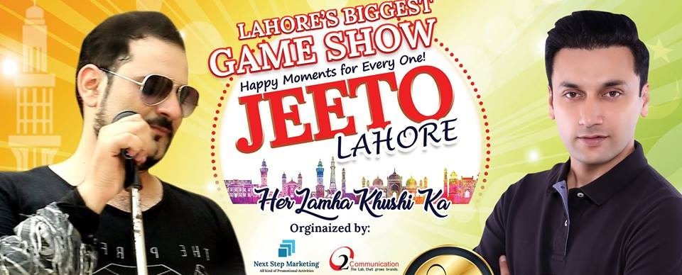 Jeeto Lahore Tickets O2 Communication & Next Step Marketing