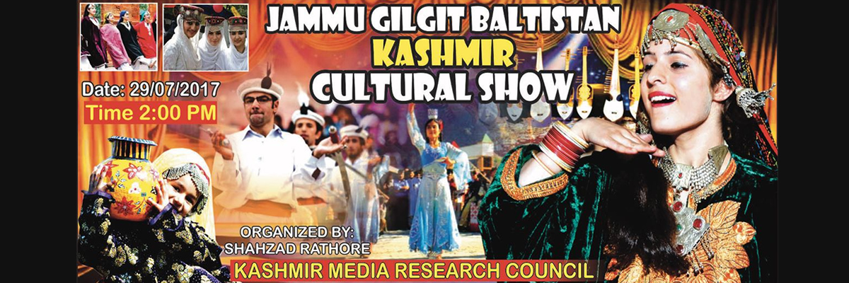 Jammu Gilgit Baltistan Kashmir Cultural Show Tickets Kashmir Media Research Council