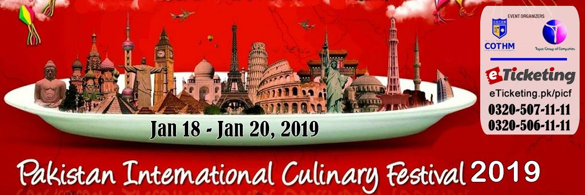 Pakistan International Culinary Festival Tickets COTHM