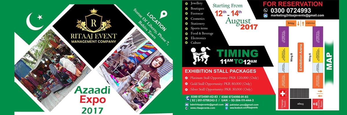 Azaadi Expo Tickets Ritaaj Events