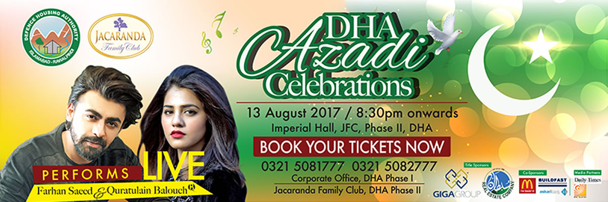 DHA Azadi Celebrations Tickets