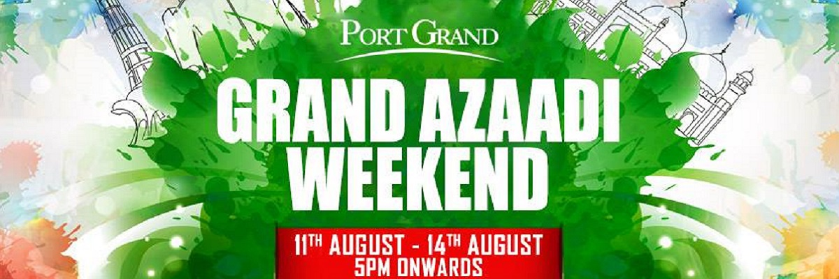 Grand Azaadi Weekend Tickets Port Grand