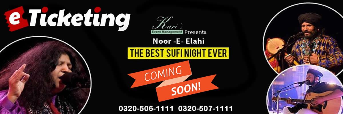 Noor E Elahi Tickets Kari