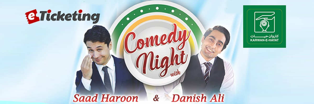 Comedy Night Tickets Karwan-e-Hayat