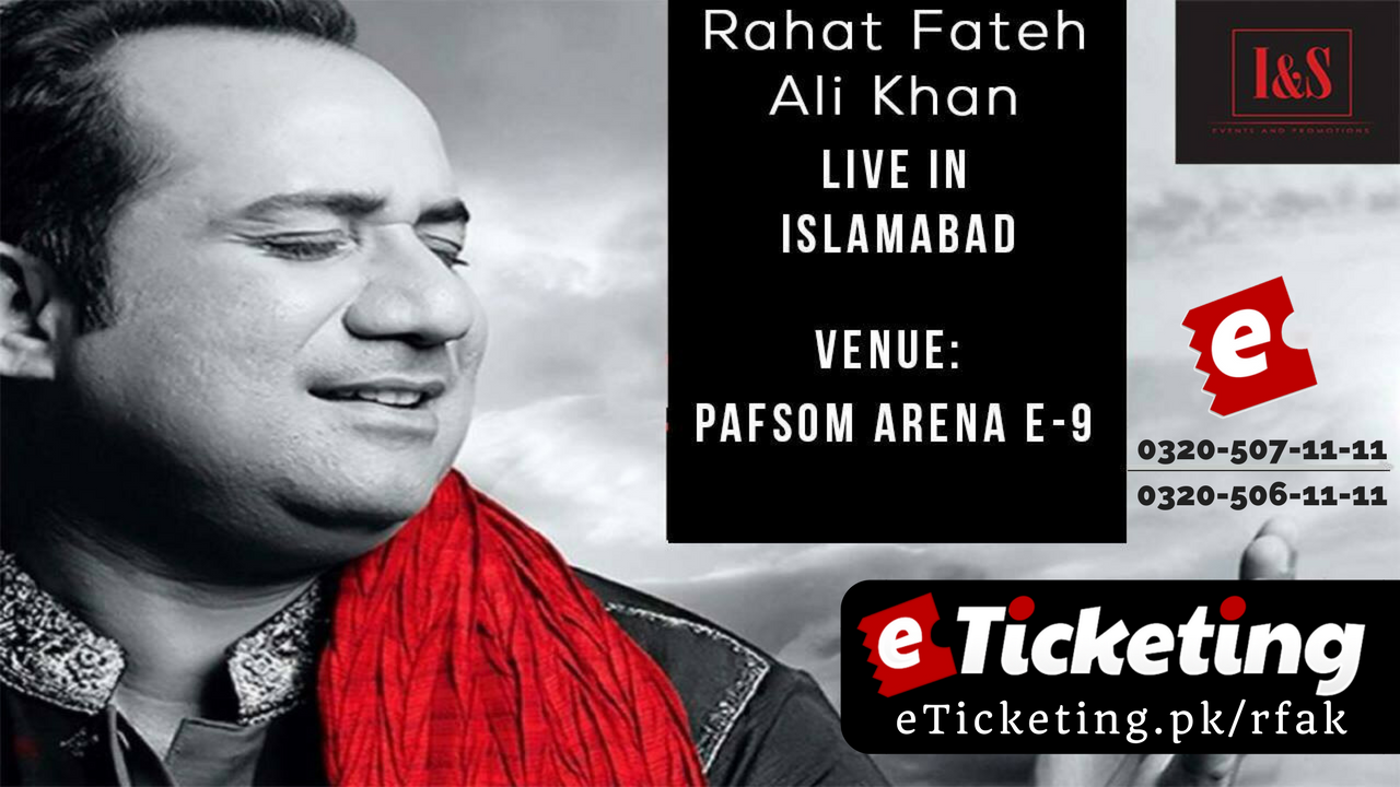Play the Moment with Rahat Fateh Ali Khan Tickets I&S