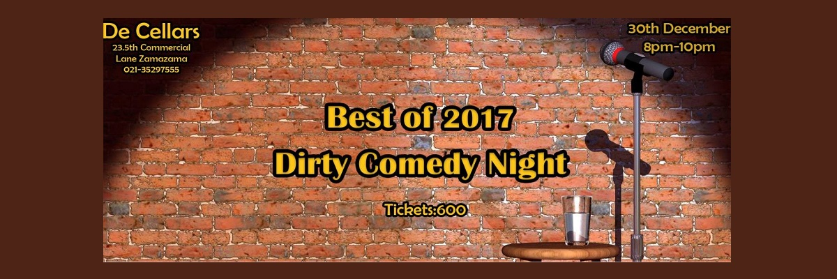 Dirty Comedy Night Tickets