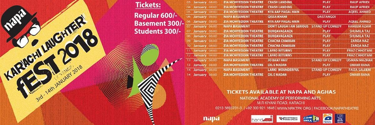 Karachi Laughter Fest Tickets