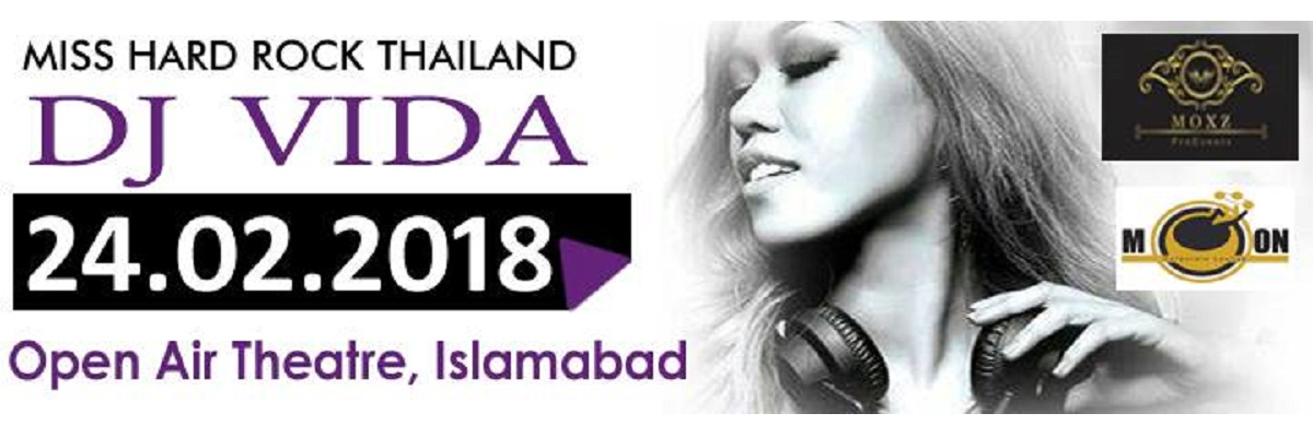 Musical Night with DJ Vida Tickets MOXZ Pro Events