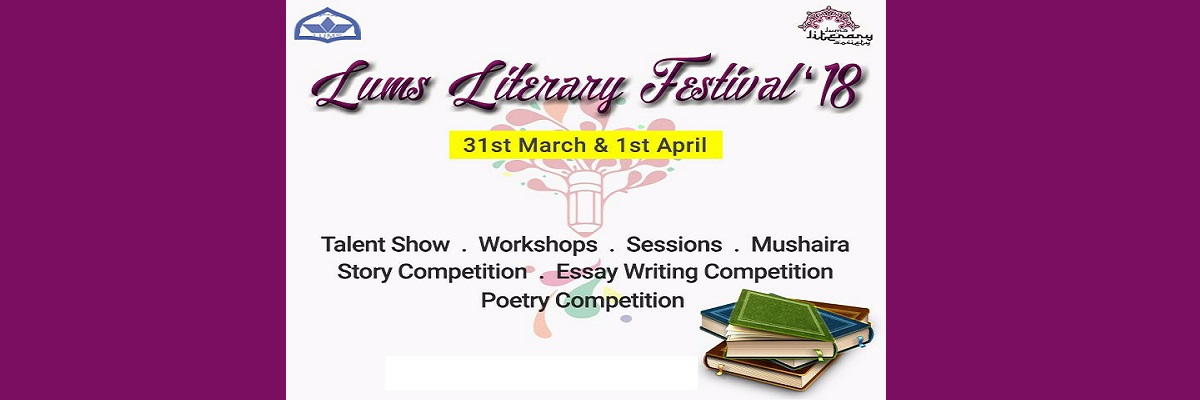 LUMS Literary Festival Tickets