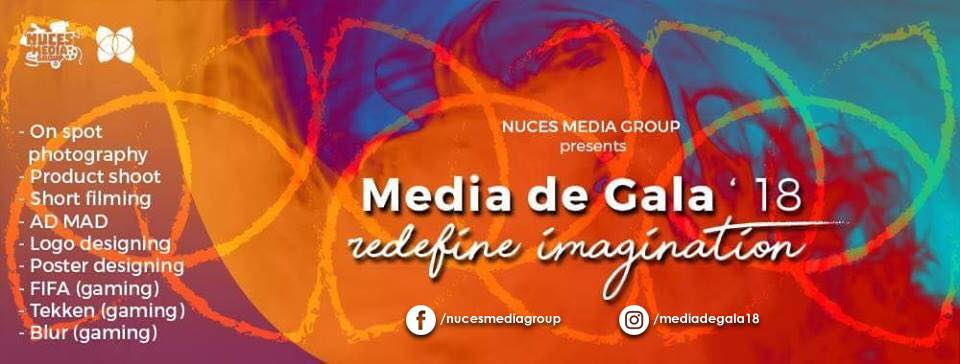 Media De Gala 18 Tickets NUCES Media Group (NMG)