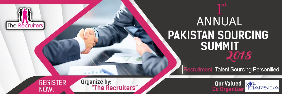 Pakistan Sourcing Summit Tickets Pakistan Sourcing Summit by The Recruiters
