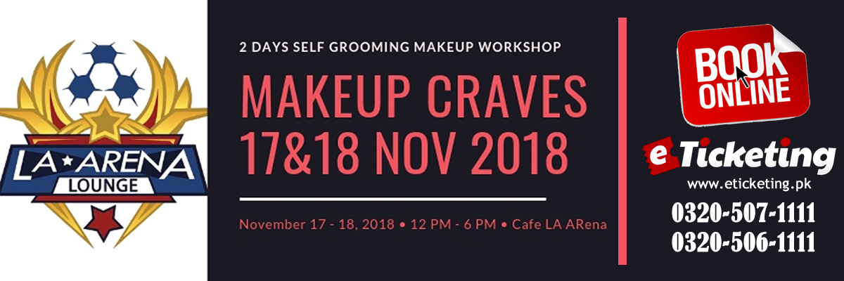Makeup Craves Tickets Sara Gulzaib