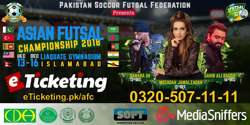 Asian Futsal Championship Tickets