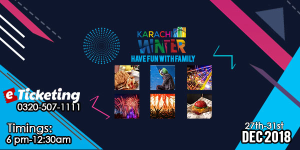 Karachi Winter Family Festival Tickets