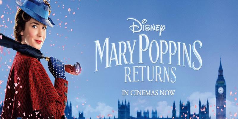 Marry Poppins Returns Tickets