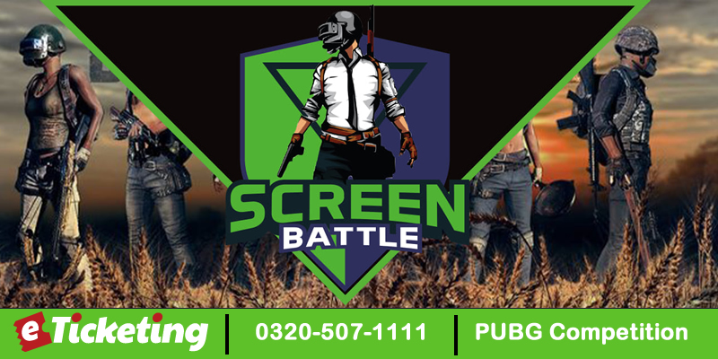 PUBG Competition Tickets