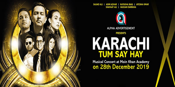 Karachi Tum Say Hay Tickets
