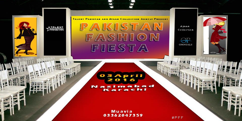 Pakistan Fashion Fiesta Tickets