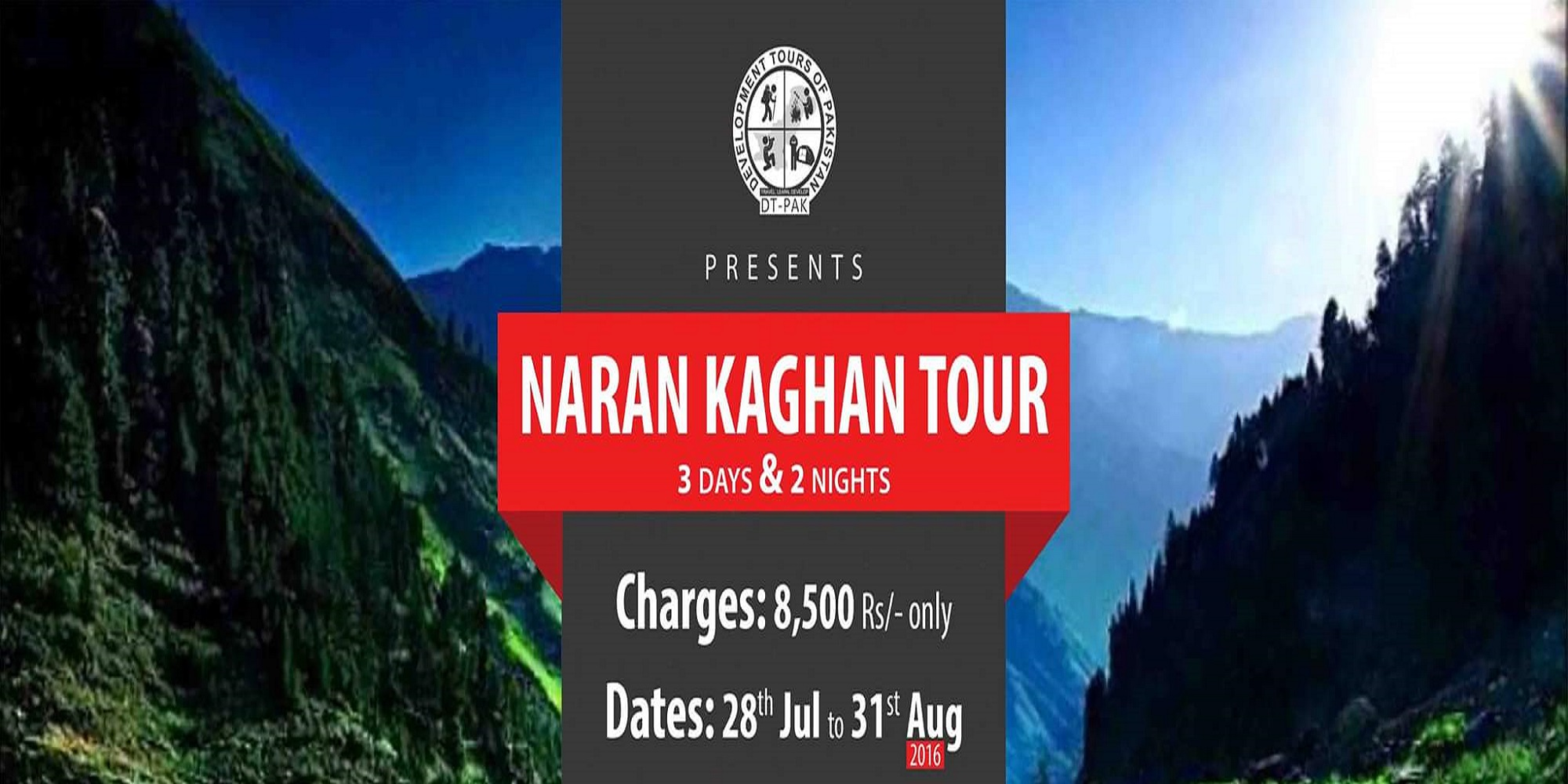 Naran Kaghan Tour Tickets
